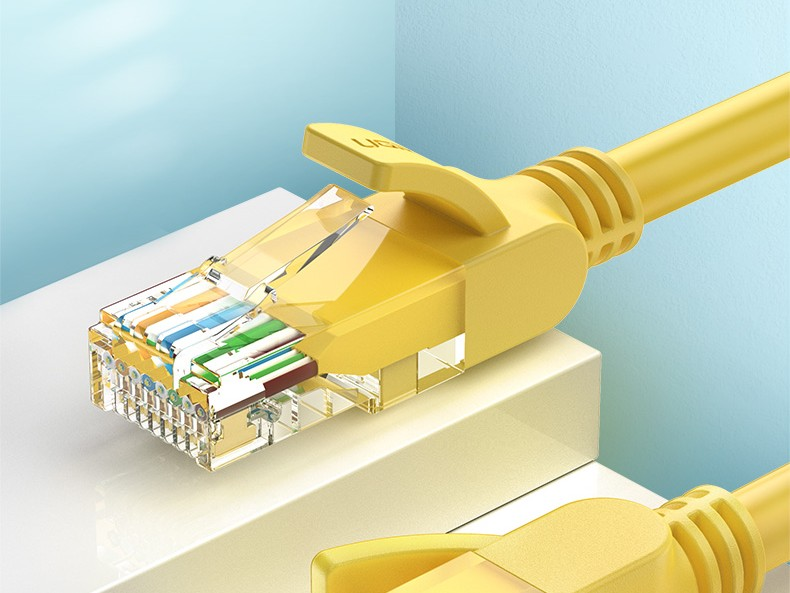6ft, 100Mbps High Speed Cat5e UTP RJ45 Ethernet Cable