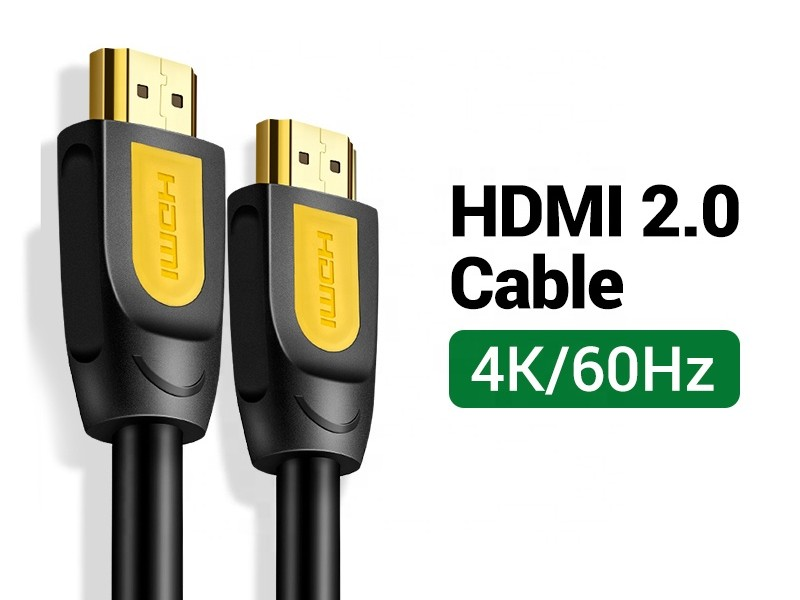 HDMI Cable 6ft, 4K Braided High Speed HDMI 2.0 for Nintendo Switch, PS5 PS4, PS3, Roku, TV Box, HDTV